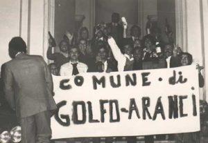 Golfo Aranci - festeggiamenti per l'autonomia