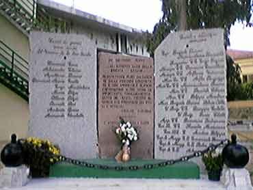 Monumento dei Caduti - dopo