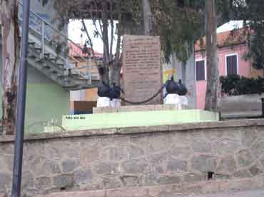 Monumento dei Caduti - prima