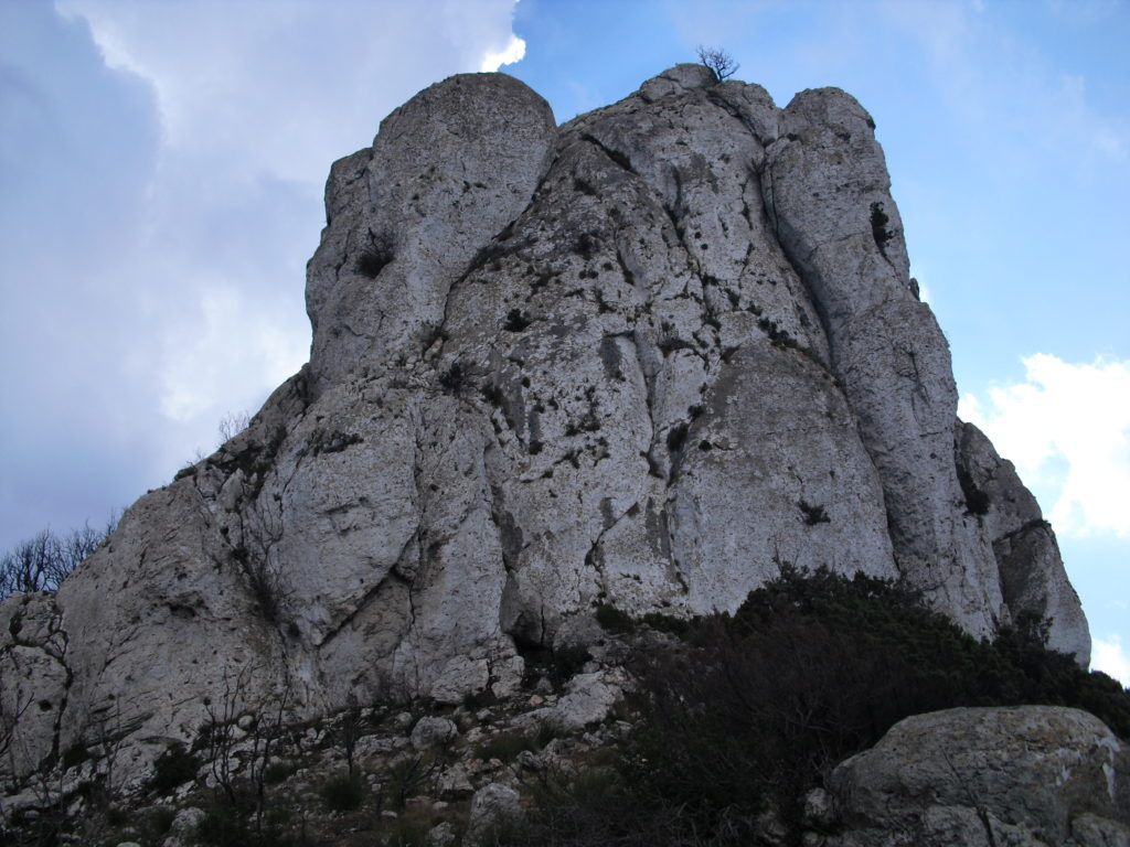Punta rocciosa di Monte Ruju