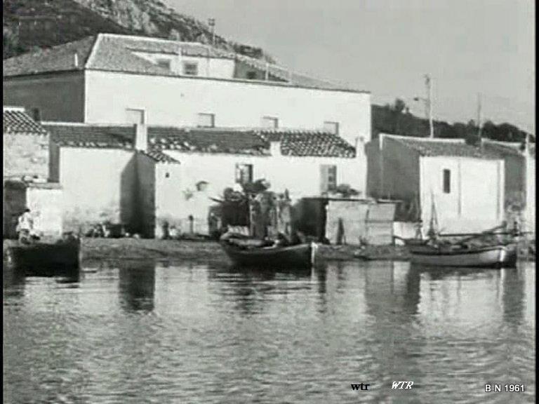 Golfo Aranci 1961 dove oggi è la pescheria la perla