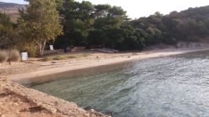 Prima spiaggia di Cala Moresca