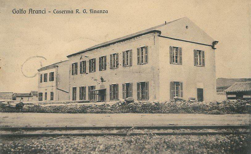 Golfo Aranci Caserma R. G. Finanza