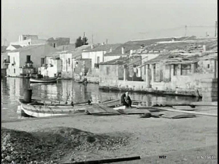 Golfo Aranci il lungomare nel 1961