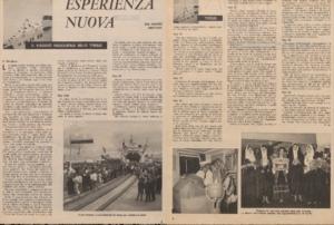Viaggio inaugurale Tyrsus